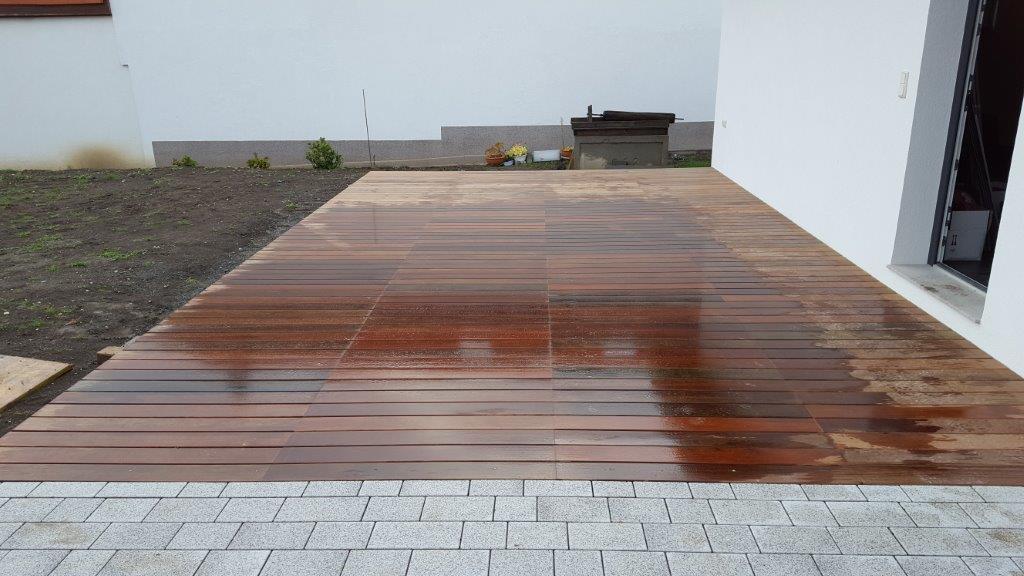 terrasse aus ipe holz standpunkt. Black Bedroom Furniture Sets. Home Design Ideas